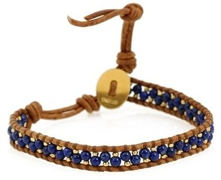 Chan Luu Single Wrap Bracelet With Stones