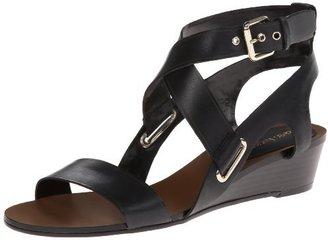 Enzo Angiolini Women's Zabariz Wedge Sandal $99 thestylecure.com