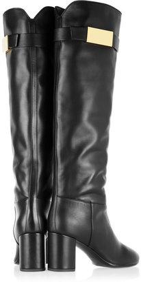 Giuseppe Zanotti Leather knee boots