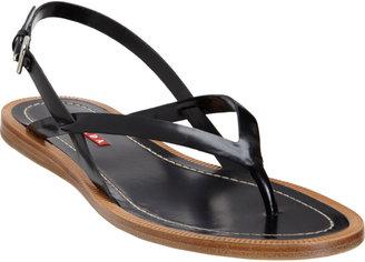 Prada Slingback Thong Sandal