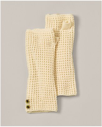 Eddie Bauer Snowfall Waffle Fingerless Gloves