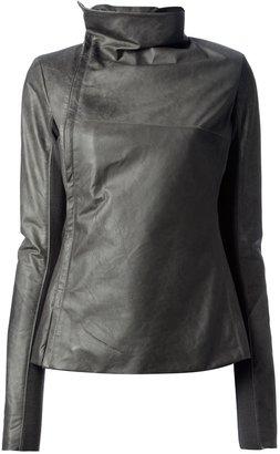 Rick Owens 'Turtle' leather jacket
