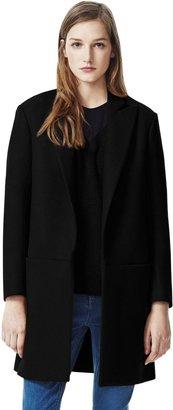 Theory Elibeth Coat in Roanoke Wool Blend