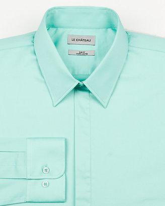 Le Château Stretch Sateen Slim Fit Shirt