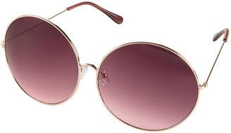 Topshop Round Metal Frame Sunglasses
