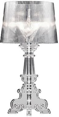 JCPenney Large Salon Clear Table Lamp