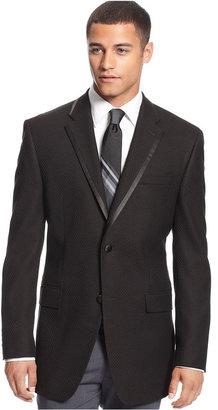 Sean John Jacket, Black Tuxedo Sportcoat