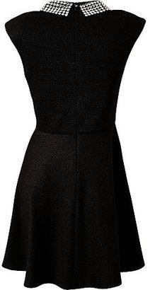 Betsey Johnson Crystal Collar Dress