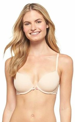 Xhilaration Women's Perfect T-Shirt Convertible Lightly Lined Plunge Bra