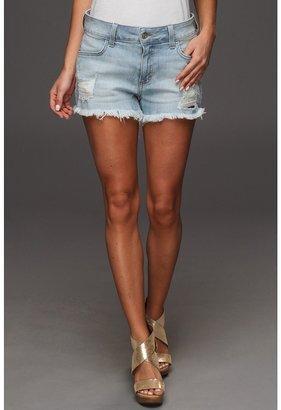 Siwy Denim - Britt High-Waisted Cut-Off Shorts in Careless (Careless) - Apparel