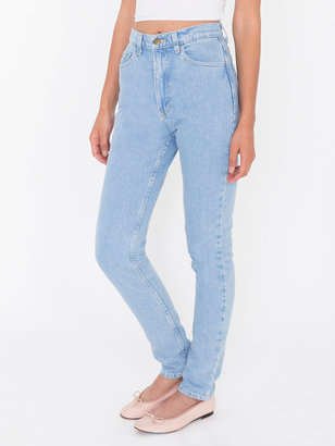 American Apparel Petite High-Waist Jean