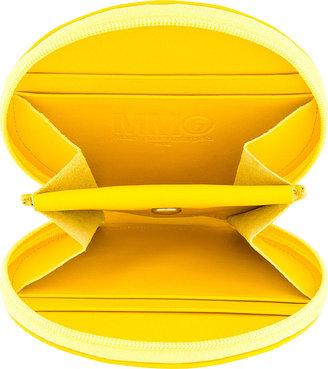 Maison Martin Margiela Yellow Calfskin Coin Pouch