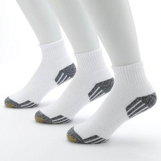 Gold Toe Men's GOLDTOE 3-pk. G-Tec Outlast Quarter Athletic Socks