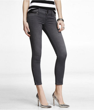Express Stella Extreme Stretch Ankle Zip Jean Legging