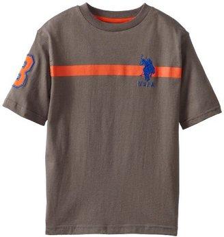 U.S. Polo Assn. Big Boys' Short Sleeve T-Shirt