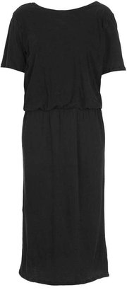 Topshop Washed Jersey Wrap Dress By Boutique