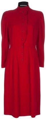 Guy Laroche Vintage Puff sleeves dress