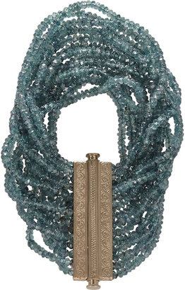 Anaconda Multicolor Sapphire Bead Bracelet