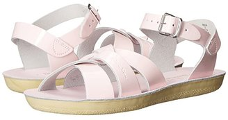Salt Water Sandal by Hoy Shoes Sun-San - Swimmer (Toddler/Little Kid) (Shiney Pink) Girls Shoes