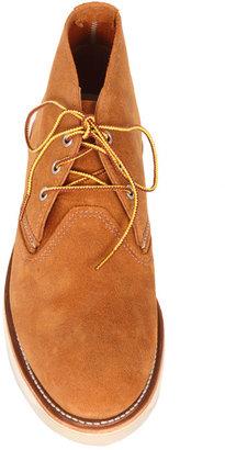 Red Wing Shoes Work Chukka in Burnt Orange Muleskinner