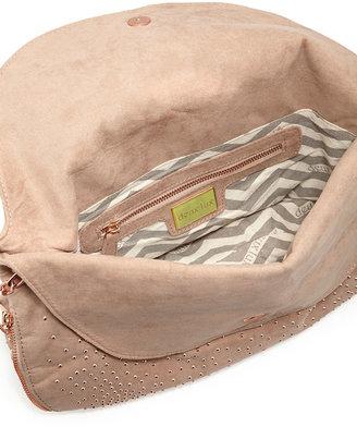 Deux Lux Atlantis Studded Shoulder Bag, Blush