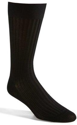 Men's Pantherella Cotton Blend Mid Calf Dress Socks $28 thestylecure.com