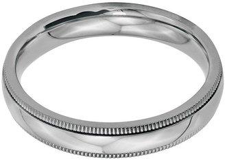 Steel by Design 4mm Polished Milgrain Ring