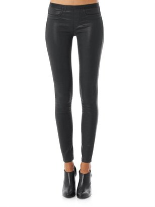 Helmut Lang Mid-rise skinny coated jeans