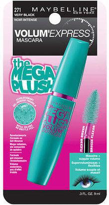 Maybelline Volum' Express The Mega Plush Washable Mascara Very Black