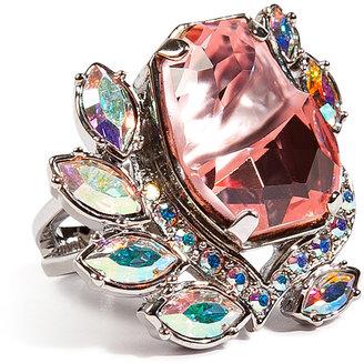 Mawi Flower Gemstone Ring in Pink