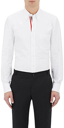 Thom Browne Men's Oxford Cloth Shirt-White $425 thestylecure.com
