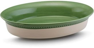 Paula Deen 4-qt. Southern Gathering Stoneware Au Gratin Dish, Sage