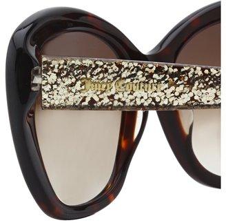 Juicy Couture Glittered Cat-Eye Sunglasses