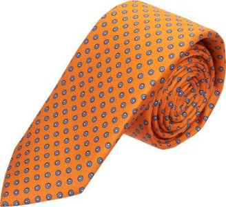 Barneys New York Olive Dot Tie