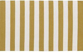 Crate & Barrel Olin Gold 5x8 Rug