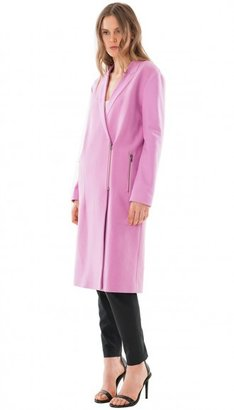 Tibi Boucle Long Coat