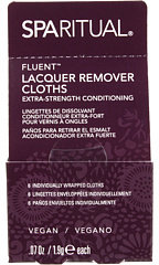 SpaRitual FluentTM Extra Strength Conditioning Lacquer Remover Cloths
