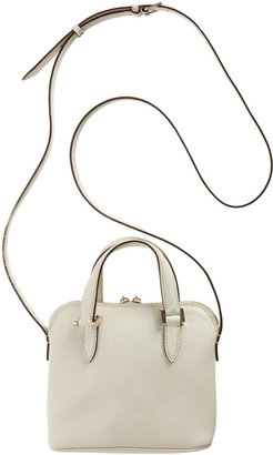 Valextra Micro 75 Top Handle Bag with Strap