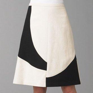 Piazza Sempione Graphic A-Line Skirt
