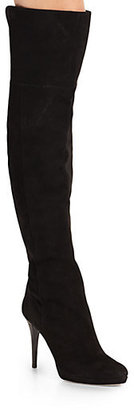 Jimmy Choo Gypsy Suede Over-The-Knee Boots
