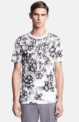 Lanvin 'Insect' Print Crewneck T-Shirt