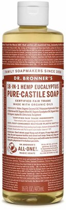 Dr. Bronner's Eucalyptus Castile Liquid Soap by 16oz Bar)