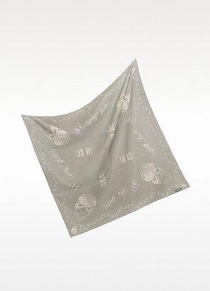Enrico Coveri Coveri Collection Glam Rock - Cotton & Silk Square Scarf