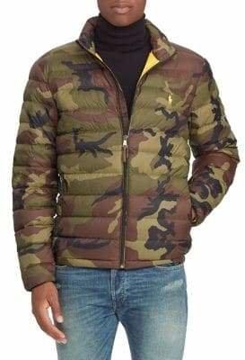Polo Ralph Lauren Big Tall Camo Packable Down Jacket