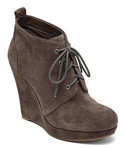 "Jessica Simpson Catcher"" Lace-up Wedge Bootie"