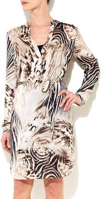 Wallis Animal Print Shirt Dress
