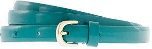 J.Crew Patent leather skinny belt
