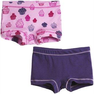 City Threads Girls Boy Cut Underwear 2-Pack