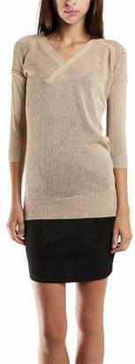 VPL Sustentation Sweater in Taupe