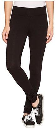 LAmade Basic Long Leggings (Black) Women's Casual Pants
